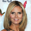 Heidi Klum et son carré long