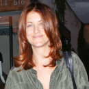 Kate Walsh sort de son salon de coiffure