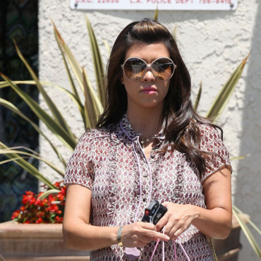Kourtney Kardashian enceinte