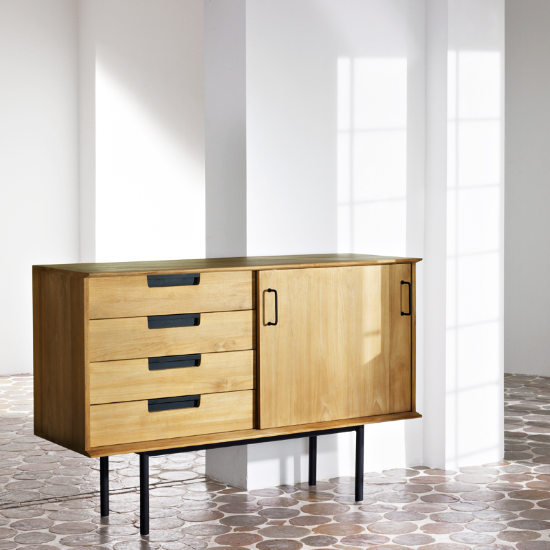 maisons du monde une collection de meubles exclu hautement design petit buffet pierre. Black Bedroom Furniture Sets. Home Design Ideas