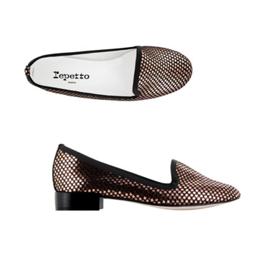 Slipper tito étoiles Repetto à 255 euros