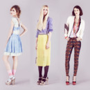 Topshop look book printemps-été 2013
