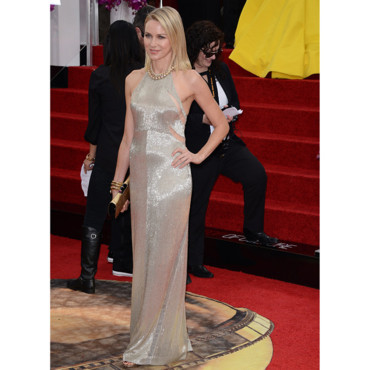Naomi Watts en robe sequins Tom Ford aux Golden Globes 2014 le 12 janvier à Los Angeles