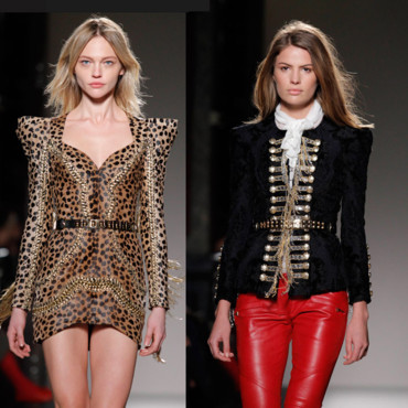 Fashion Week Balmain et Barbara Bui
