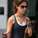 Kate Beckinsale et son chien