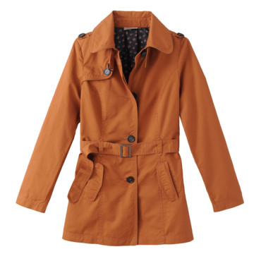 Trench orange Kiabi 49,99e