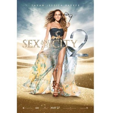 Affiche de Sex and the city 2 Sarah Jessica Parker en Pucci