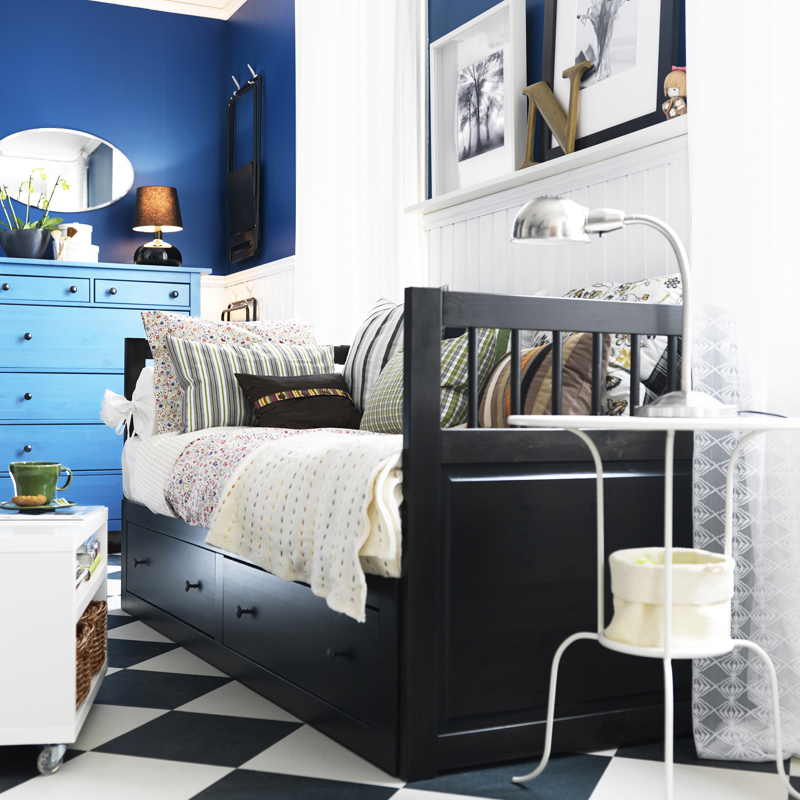 lit d 39 appoint hemnes ikea. Black Bedroom Furniture Sets. Home Design Ideas