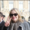 Sharon Stone à Paris pour la promotion de Largo Winch 2