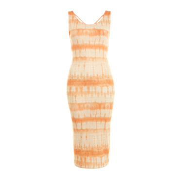 Robe imprimé tie and dye Miss Selfridge 34 euros