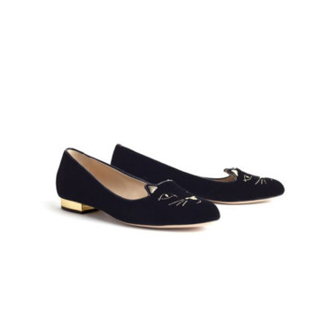 Slippers chatons Charlotte Olympia 495 euros