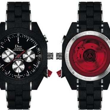 Montre Dior Black Time