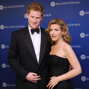 Prince Harry séducteur avec Anne-Sophie Mutter dîner annuel de l'Atlantic Council au Ritz mai 2012