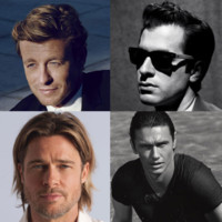 Brad Pitt, Justin Timberlake, Simon Baker : les hommes gries beaut les plus sexy
