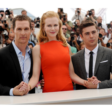 Nicole Kidman, Zac Efron et Matthew McConaughey  Cannes pour Paperboy