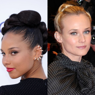 Alicia Keys-Diane Kruger-ear cuff