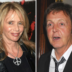 People : Paul MCartney et Rosanna Arquette