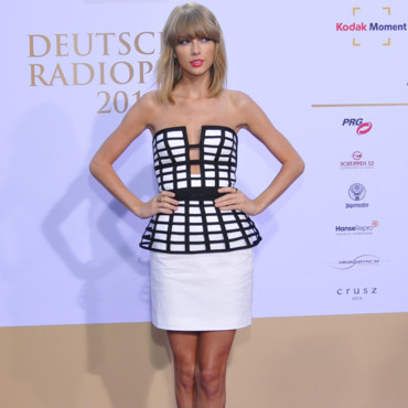 Taylor Swift sur le tapis rouge des Ferman Radio Awards le 4 septembre 2014