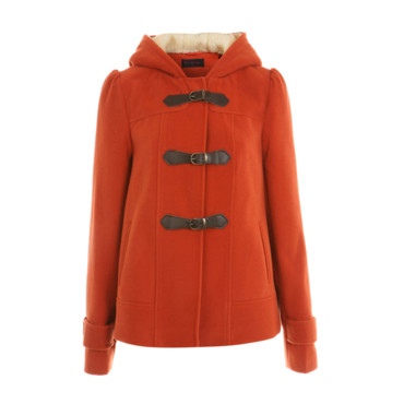 Duffle Coat orange Miss Selfridge 65,56e