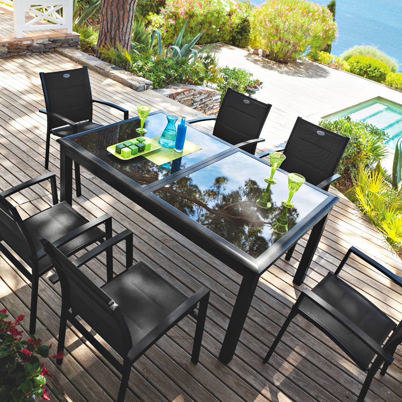 Hesperide Garden Furniture Cheap Table Pliante Azua Places Noir Hesperide With Hesperide Garden