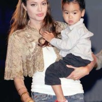 Photo : Angelina Jolie, Maddox