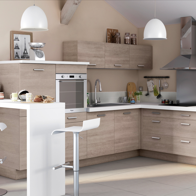 La nouvelle collection de cuisines castorama 2012 for Murs de cuisine decoration