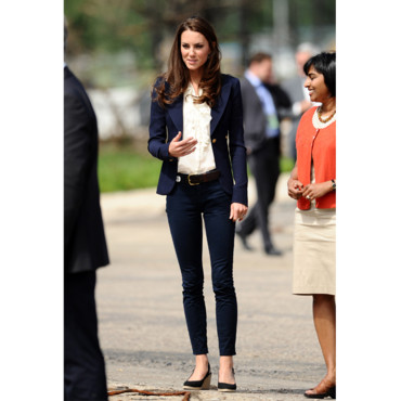 Kate Middleton en jeans slim