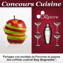 Gagnants du concours cuisine sur les Pommes