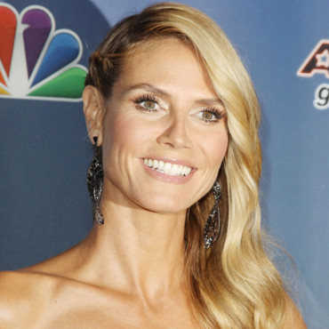 Heidi Klum aux America's Got Talent à New York le 6 Août 2014.