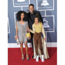 Jada Pinkett et Will Smith, avec leur fille Willow