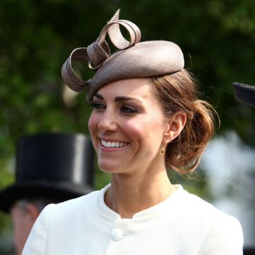 Kate Middleton Princesse Catherine Derby Horse Racing à Epsom