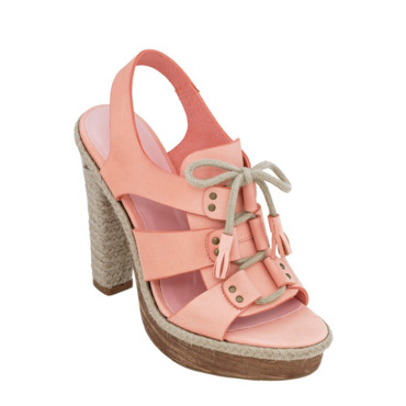 Chaussures NewLook rose