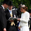 Kate Kate Middleton Princesse Catherine et Prince William Derby Horse Racing à Epsom