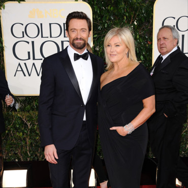 Hugh Kacman et Deborra-Lee Furness lors des Golden Globes 2013 le 13 janvier 2013 à Los Angeles