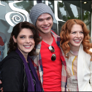 Twilight : les acteurs ASHLEY GREENE, KELLAN LUTZ ET RACHELLE LEFEVRE