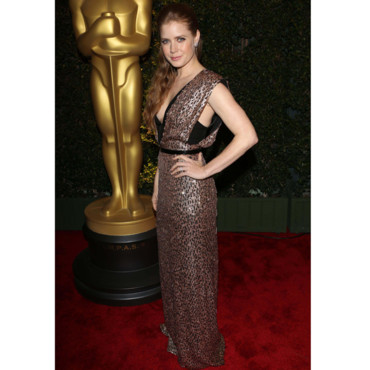 Amy Adams en Jenny Packham à la soirée des Academy Of Motion Pictures Arts And Sciences Governors Awards 2012