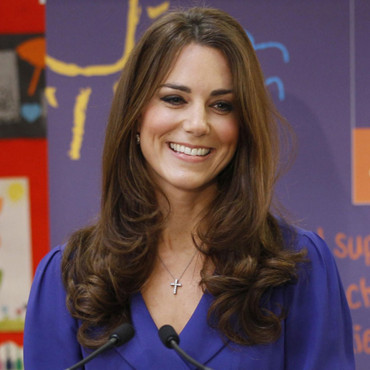 Kate Middleton et son brushing ondulé
