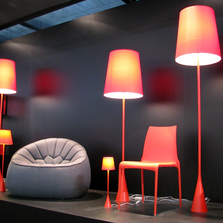 salon maison et objet le plein d 39 ambiances design ambiance rouge par pascal mourgue d co. Black Bedroom Furniture Sets. Home Design Ideas