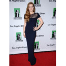 Amy Adams en Oscar de la Renta au gala annuel des Hollywood Film Awards 2012