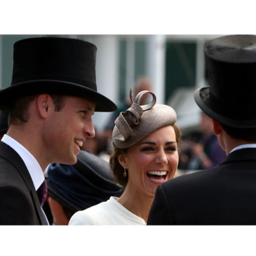 Kate Middleton Princesse Catherine et Prince William Derby Horse Racing à Epsom