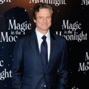 Colin Firth pour la première française de Magic in the Moonlight à Paris en septembre 2014