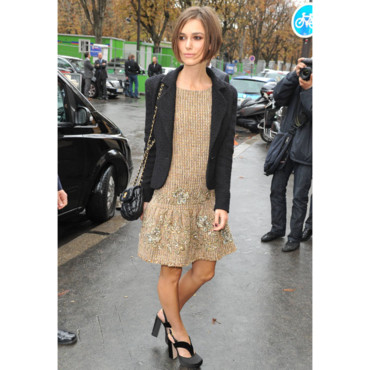 Keira Knightley en robe Chanel