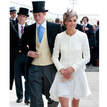Kate Middleton Princesse Catherine et Prince Harry Derby Horse Racing à Epsom