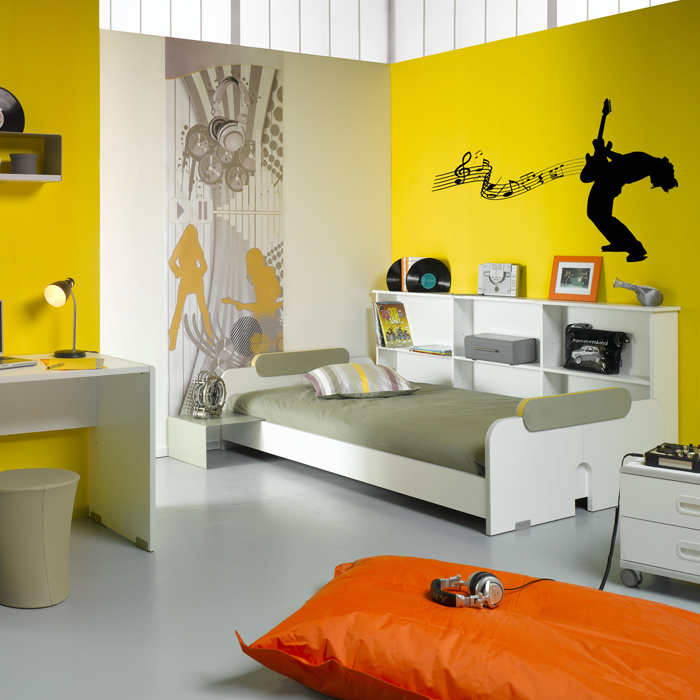 id e peinture chambre adolescent garcon. Black Bedroom Furniture Sets. Home Design Ideas