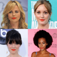 Leighton Meester, Zooey Deschanel... le rouge à lèvres orange les fait flasher