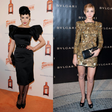 Top Flop Dita Von Teese vs Clotilde Courau