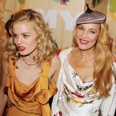 Georgia May Jagger et sa mère Jerry Hall