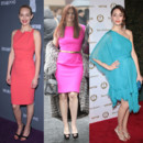 Amber Valletta Debra Messing et Emily Rossum colorama