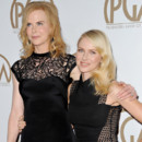 Nicole Kidman et Naomi Watts aux Producers Guild Awards à Los Angeles en janvier 2013