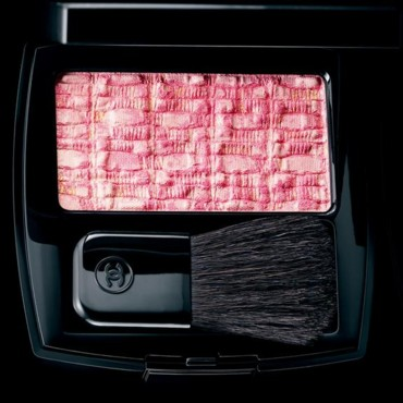 Le blush Les Tissages de Chanel